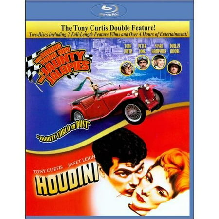 HOUDINI / DARING YOUNG MEN AND JAUNTY JALOPIES-TONY CURTIS (Blu-ray, 2 Movies)](Halloween Jamie Lee Curtis Movies)
