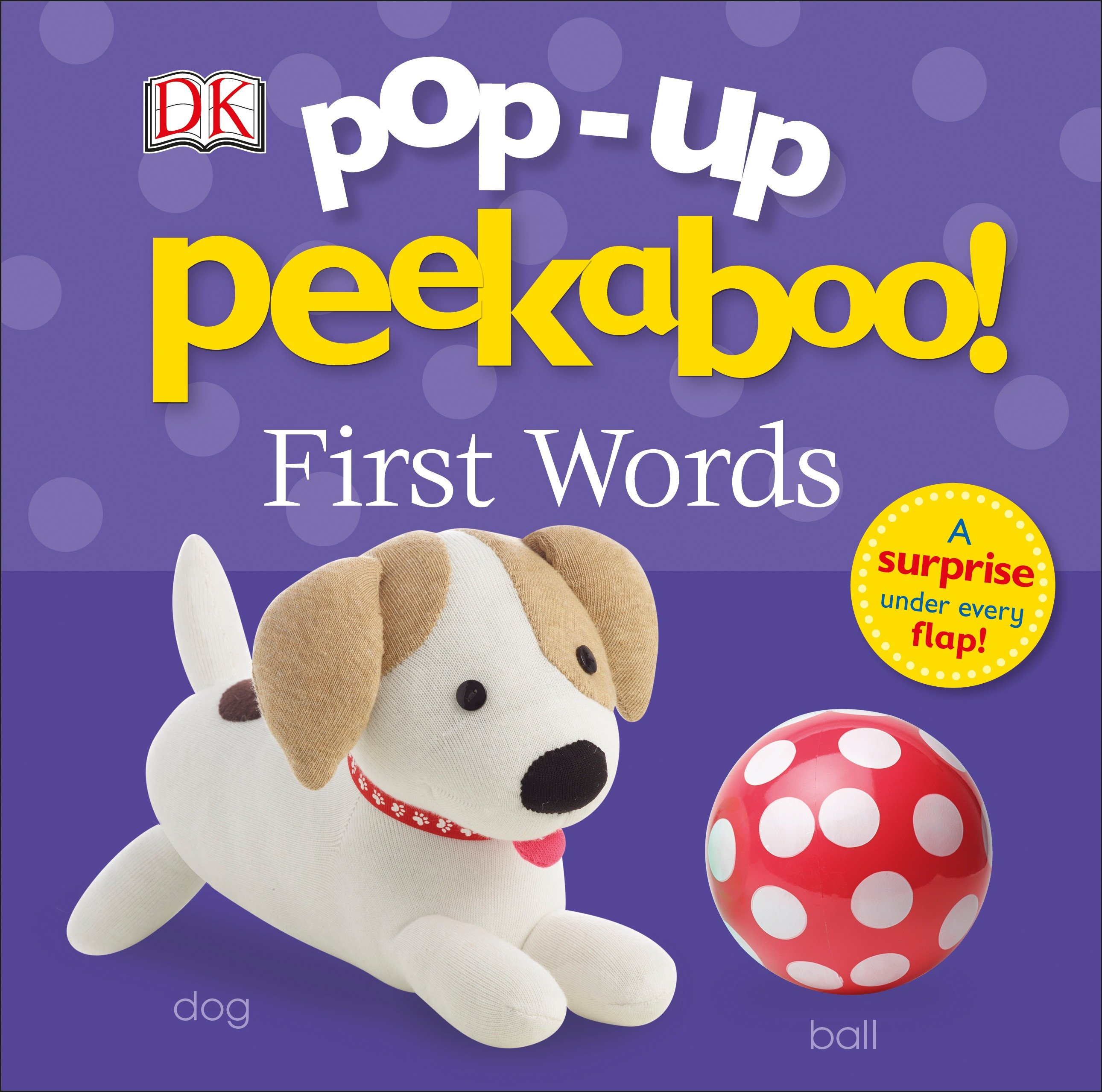 Peekaboo 1st Words (Board Book)