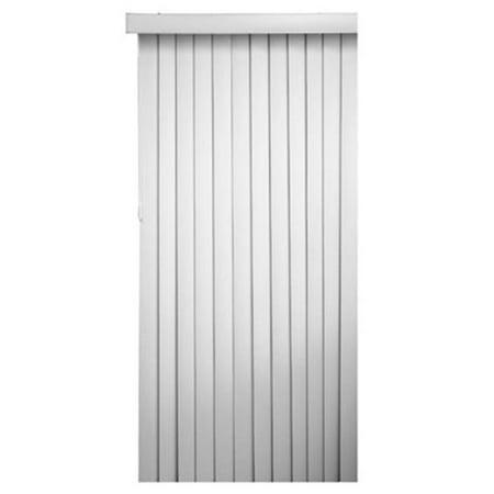 7884VERTW HP 3.5 x 78 x 84 in. Vertical Light Filtering Blind, White ()