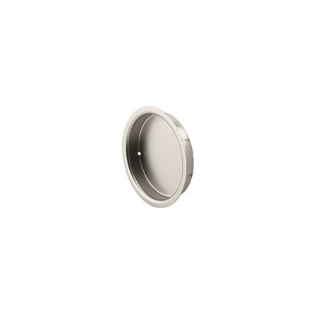 Prime-Line Products N 7206 Closet Door Finger Pull, 2-Inch, Satin Nickel,(Pack of 2)