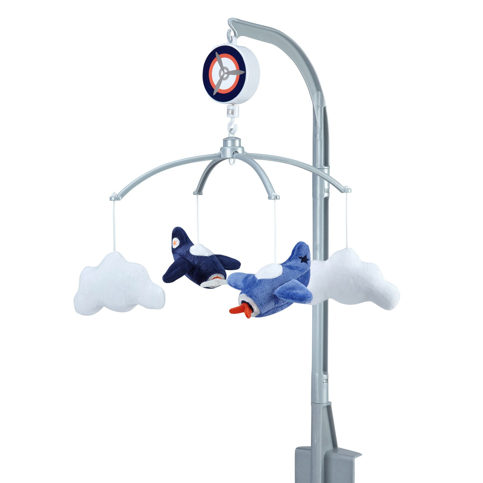 Take Flight Airplane & Cloud Nursery Musical Mobile by Carters by Carter%27s