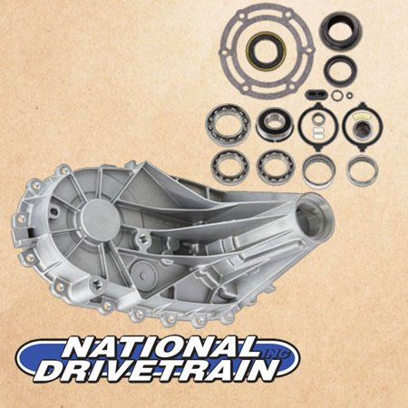 TRANSFER CASE REAR CASE HALF & BEARING REBUILD KIT - NP246 (Spicer Transfer Case)