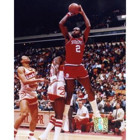 Moses Malone Basketball (Moses Malone Action Photo Print)