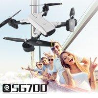 iLH Mallroom SG700 Quadcopter Drone 2.4Ghz 4 CH 360° Hold WiFi 2.0MP Optical Flow Dual Camera