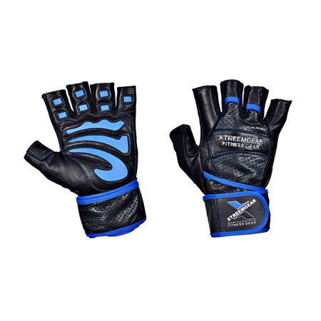 Weight Lifting Gym Training Fitness Gloves Workout Exercise - Stock Globe