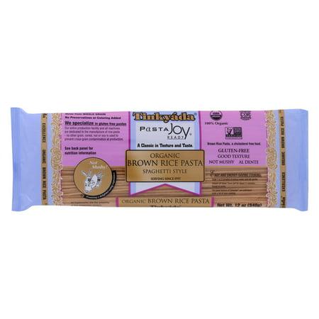 (12 Pack) Tinkyada Pasta Joy Ready Spaghetti Style Organic Brown Rice Pasta, 12 Oz