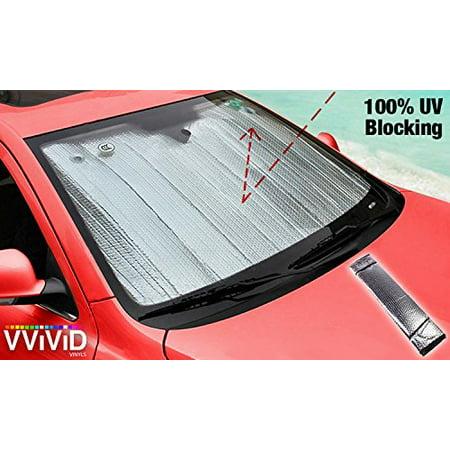 UV Reflective Insulated Foil Windshield Sunshade Screen VViViD
