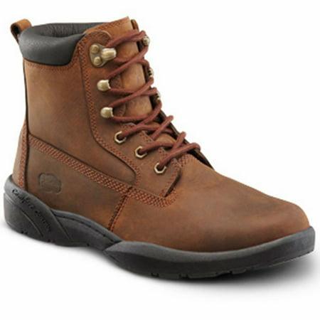 596713f9540 Dr. Comfort Boss Men's Work Boot: 7.5 X-Wide (3E/4E) Chestnut Lace