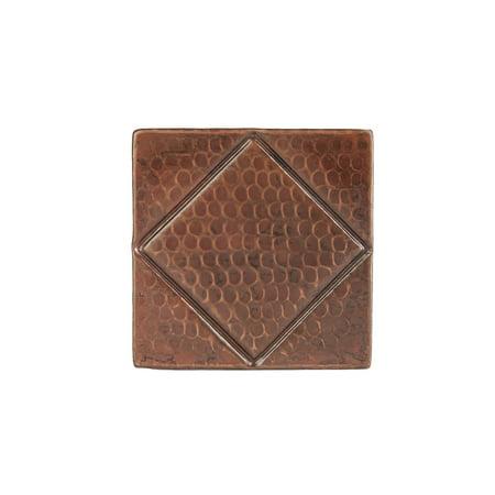 Tiles Diamond Top - Premier Copper Products T4DBD_PKG8 Package of Eight 4