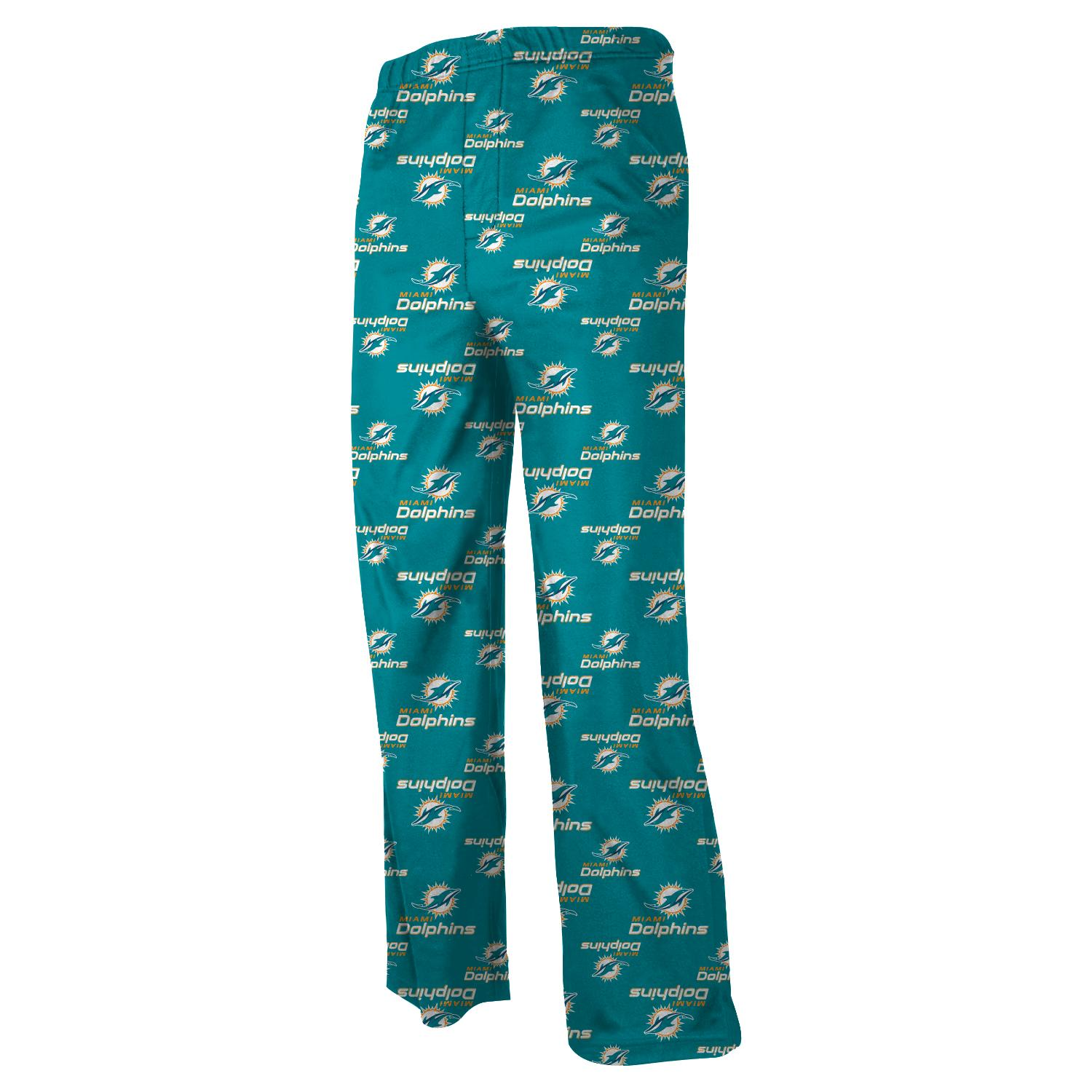 Miami Dolphins Youth NFL Logo Pajama Pants by Outerstuff