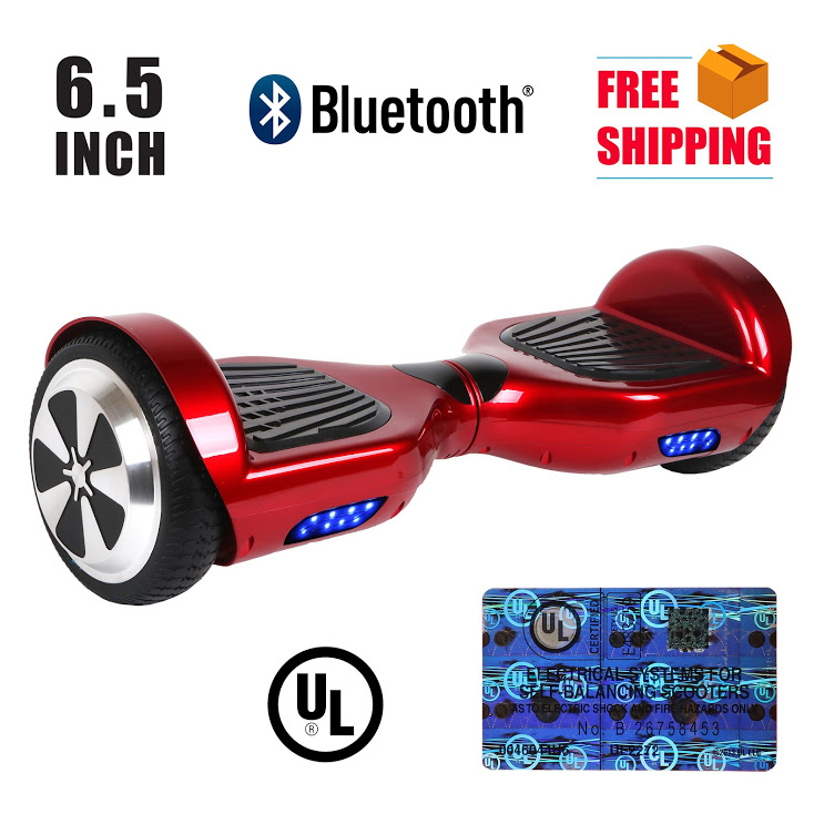 """UL2272 Listed 8.5"""" Metal Hummer Self Balancing Electric Scooter Hoverboard by"""