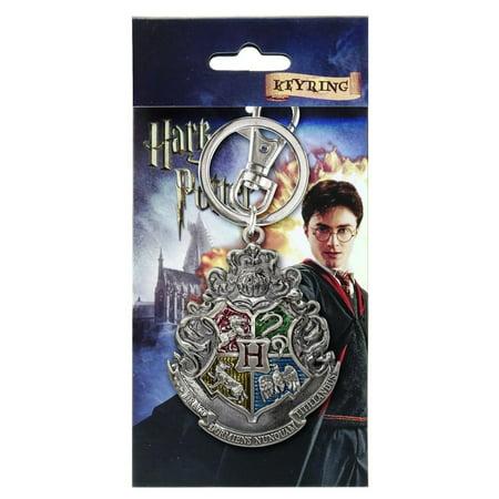 Harry Potter Pewter Key Ring: Hogwarts School Crest (Harry Potter Purses)