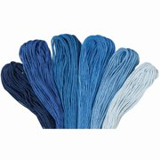 Craftways® Value Pack—Blue Jeans, 30 Skeins Embroidery Floss
