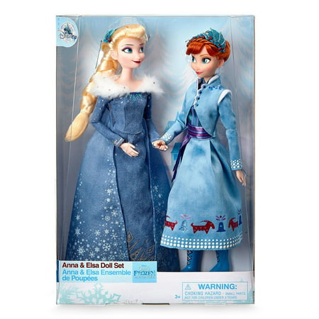 Anna Top - Disney Olaf's Frozen Adventure Anna and Elsa Doll Set New with Box