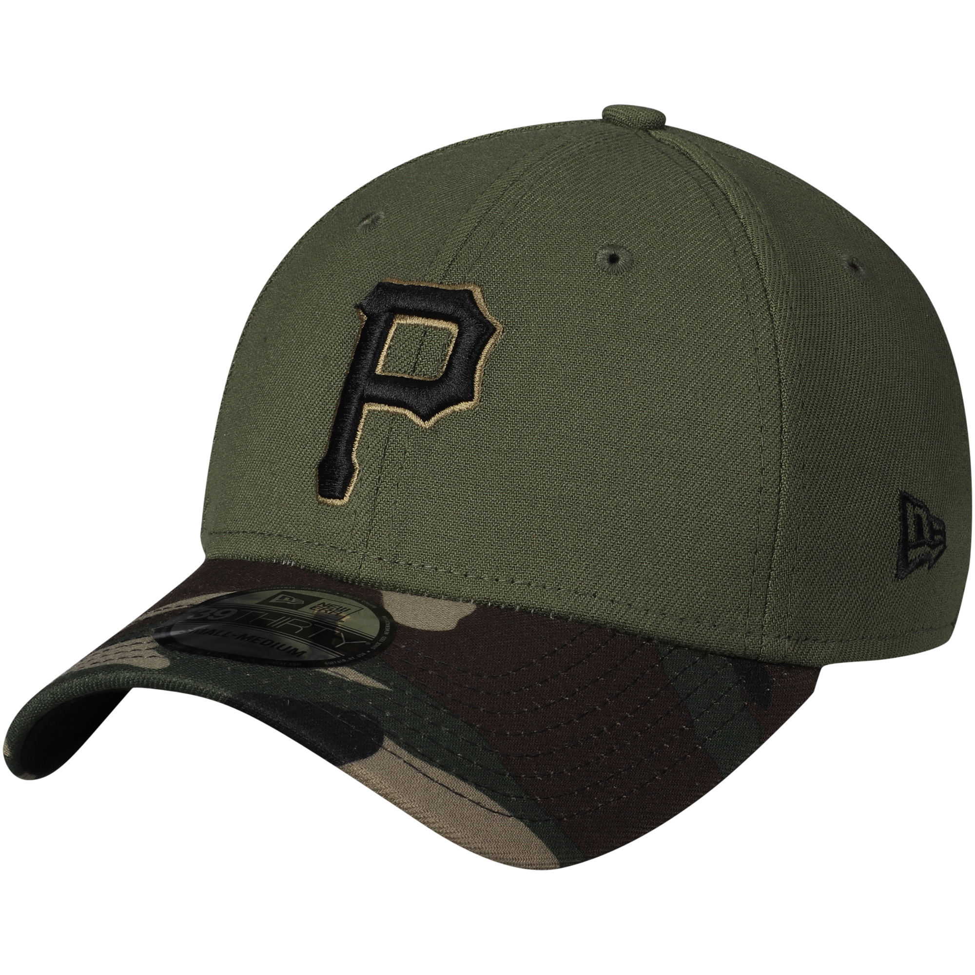 Pittsburgh Pirates New Era Alternate 3 Team Classic 39THIRTY Flex Hat - Green