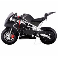 XtremepowerUS 40CC 4-Stroke GAS Pocket Bike MINI Motorcycle EPA, White