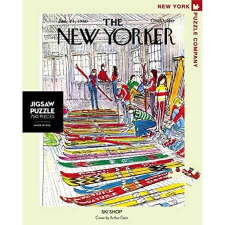 New York Puzzle Company - New Yorker Ski Shop - 750 Piece Jigsaw Puzzle - image 1 of 3