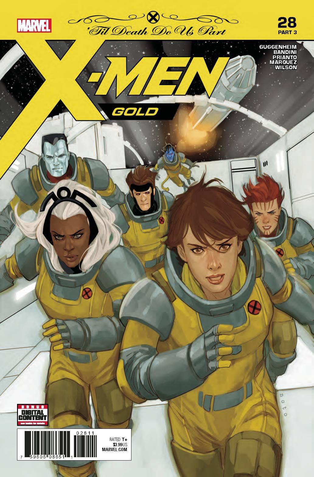 Marvel X-Men Gold #28 by