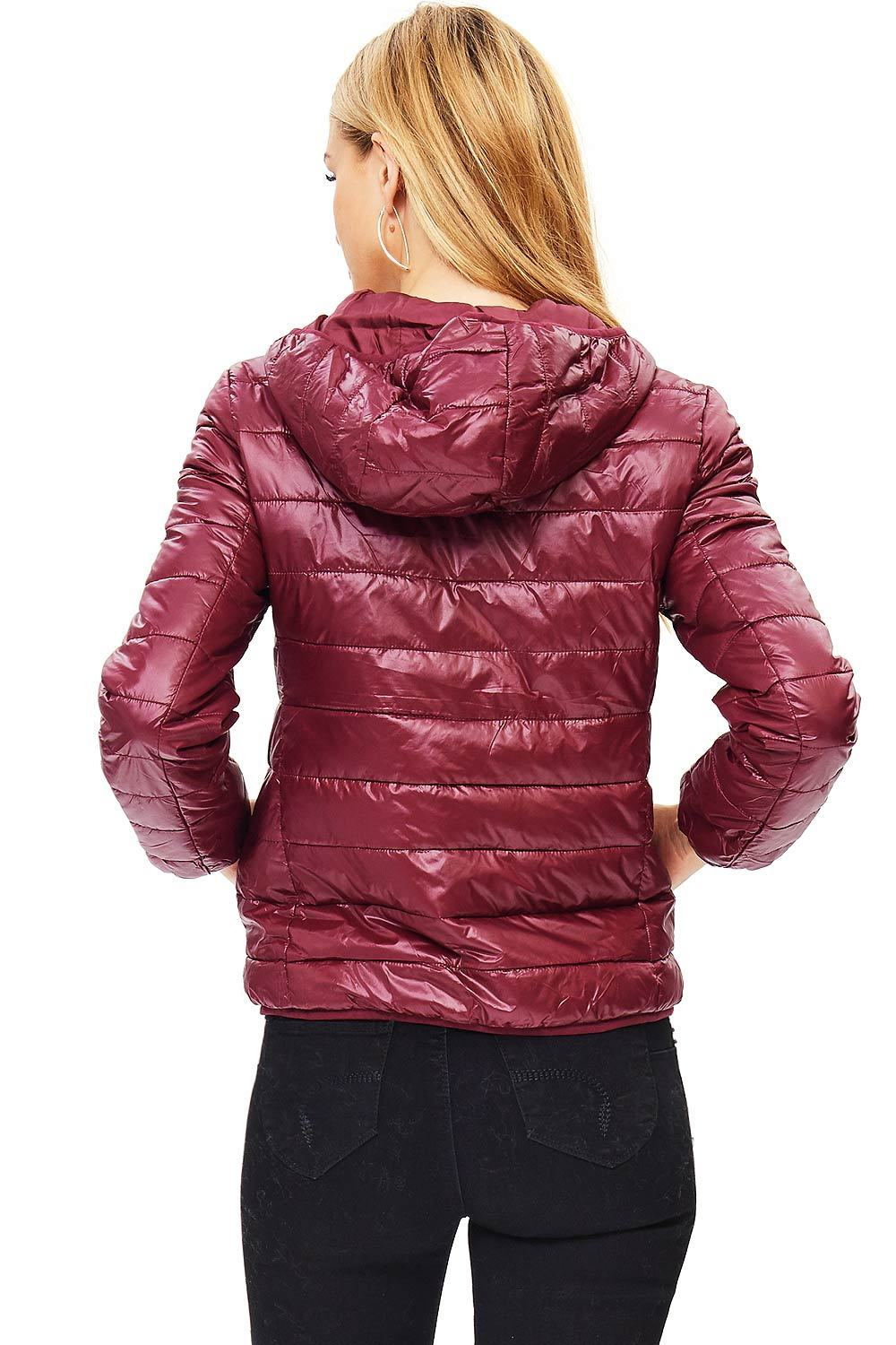 Ambiance Apparel Ambiance Apparel Women S Juniors Quilted Hoodie