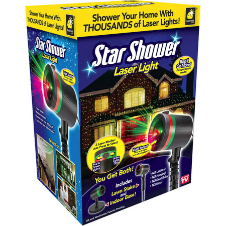 As Seen On TV Outdoor Light Decoration Star Shower Laser Light Show Holiday (Best Laser Light Show)