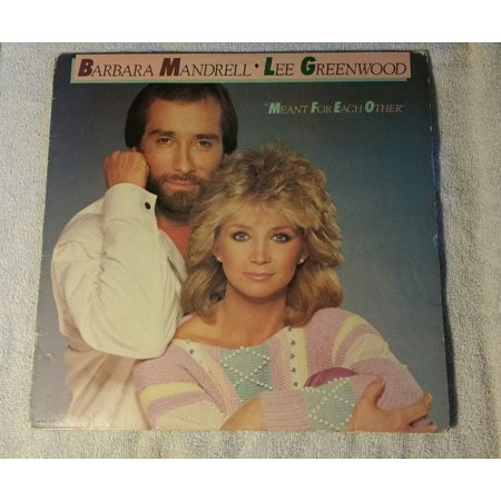 - BARBARA MANDRELL LEE GREENWOOD MEANT FOR EACH OTHER LP MCA-5477