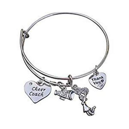 Cheer Coach Bracelet- Coach Cheerleading Bracelet- Cheer Jewelry - Perfect Gift For - Cheer Jewelry