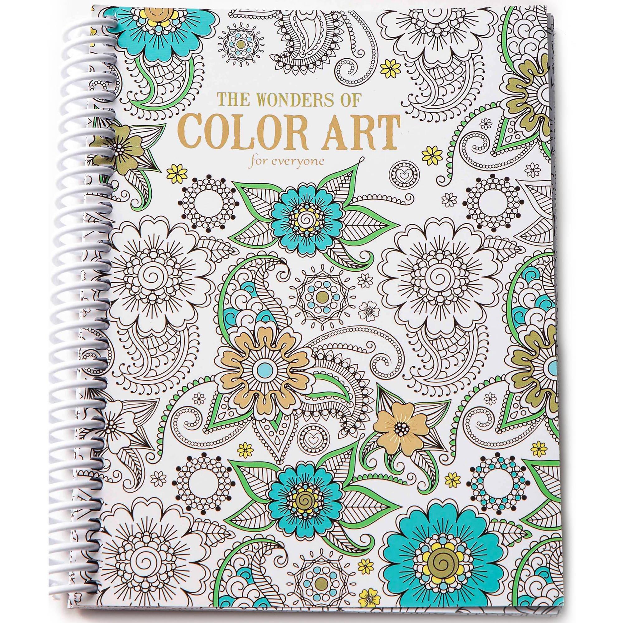 - Leisure Arts Inc Wonders Of Color Art For Everyone Coloring Book