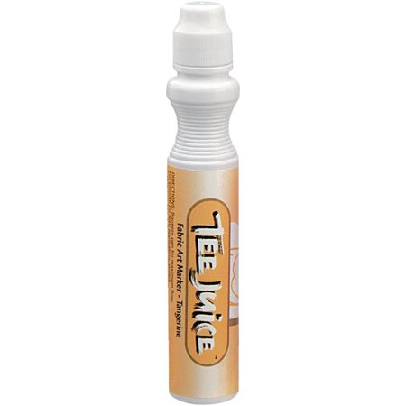Jacquard Products TEEJUCBR-0010 Tee Juice Broad Point Fabric Marker Open Stock - Tangerine ()