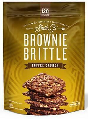 5PK Sheila G's 5 OZ Toffee Crunch Brownie Brittle