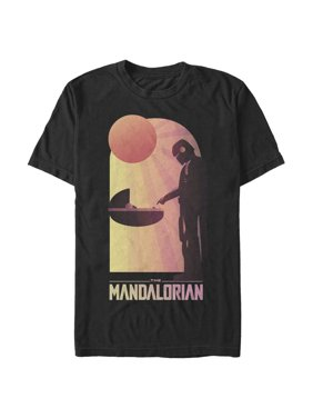 Star Wars The Mandalorian Men's The Child and Bounty Hunter Connection Made T-Shirt