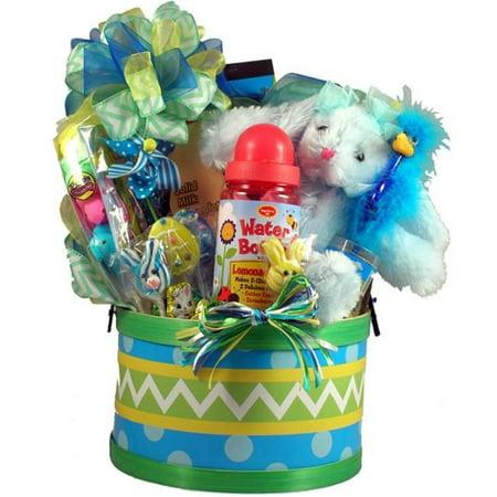Gift Basket Village, Inc. EaEgHu-Med Easter Egg Hunt, Easter Basket For Kids - Medium