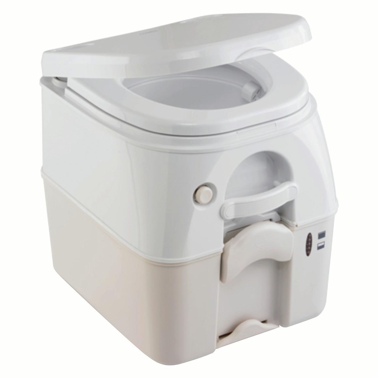 Dometic 301097202 970 Series Portable Toilet - 2.6 Gallon, Tan