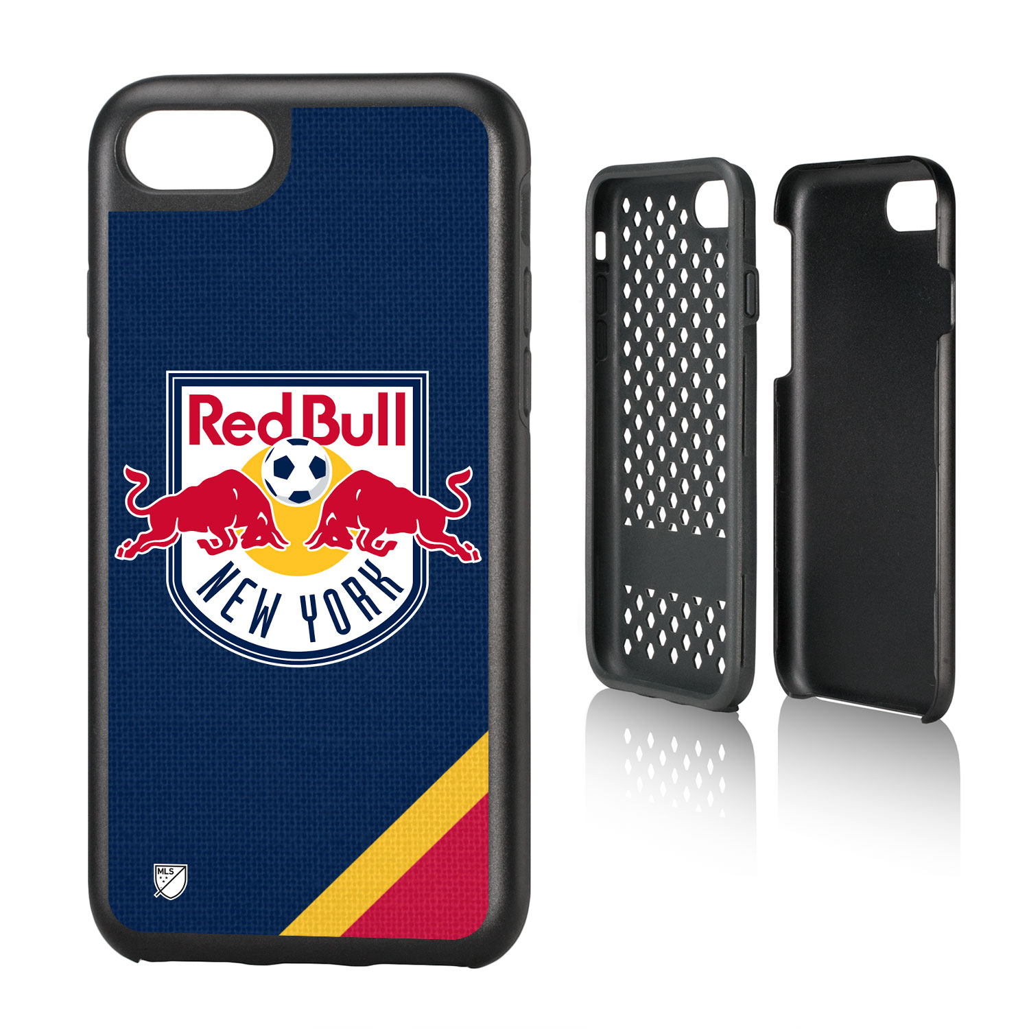 New York Red Bulls RED BULLS Solid Rugged Case for iPhone 8 / 7