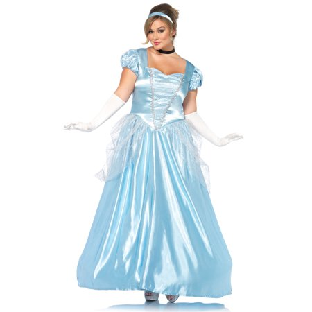 Classic Cinderella Costume Plus Size 3x4x Dress Size 22 26