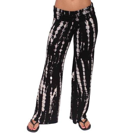 fc39f928555 SHORE TRENDZ - Shore Trendz Women s Wide Leg Boho Palazzo Pants Made in the  USA - Walmart.com