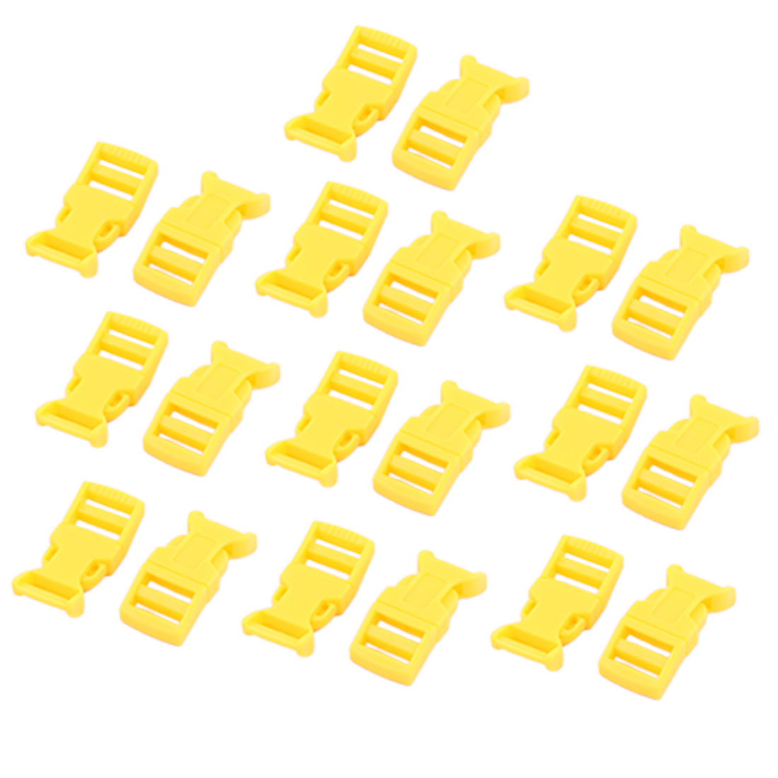 Backpack Plastic Replacement Strap Safety Quick Release Buckle 20 Pc
