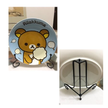 Display stand,1 Pcs 4-12  Iron Easel Classic Display Stand Bowl Plate Photo Frame Book Artwor - Halloween Book Display
