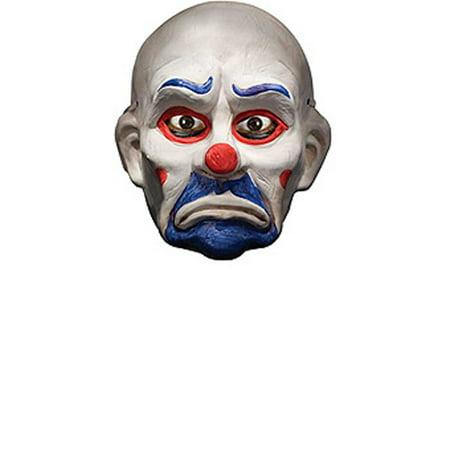 Batman Dark Knight Deluxe Joker Clown Mask Adult Halloween Accessory (Batman Mask Adult)