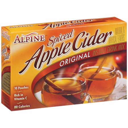 Alpine Original Spiced Apple Cider Instant Drink Mix  10 Ct 7 4 Oz