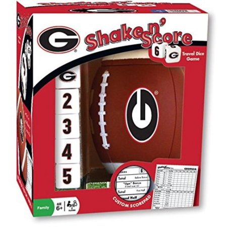 Georgia Bulldog Game (NCAA Georgia Shake 'n Score Dice Game by)