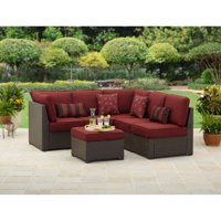 Deals on Better Homes and Gardens Rush Valley 3-Piece Outdoor Sectional Sofa Set