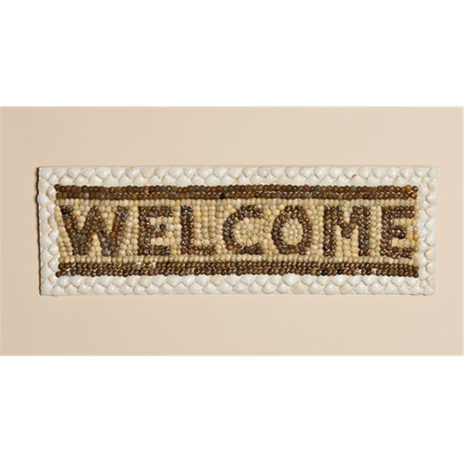 Harvest of Barnstable SWS Shell Welcome Sign - 21. 5 in