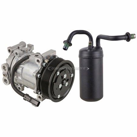 AC Compressor w/ A/C Drier For Dodge Ram 1500 2500 3500