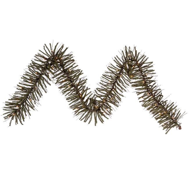 Vienna Twig & Dura-Lit Garland with Warm White LED Lights, 9 ft. x 10 in. - image 1 de 1
