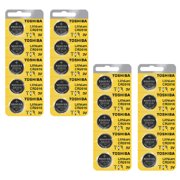 Toshiba CR2016 3 Volt Lithium Coin Battery (4 Packs of 5)