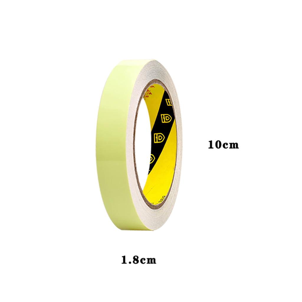Novelty Glow In The Dark Luminous Fluorescent Self-adhesive Safety Sticker Tape