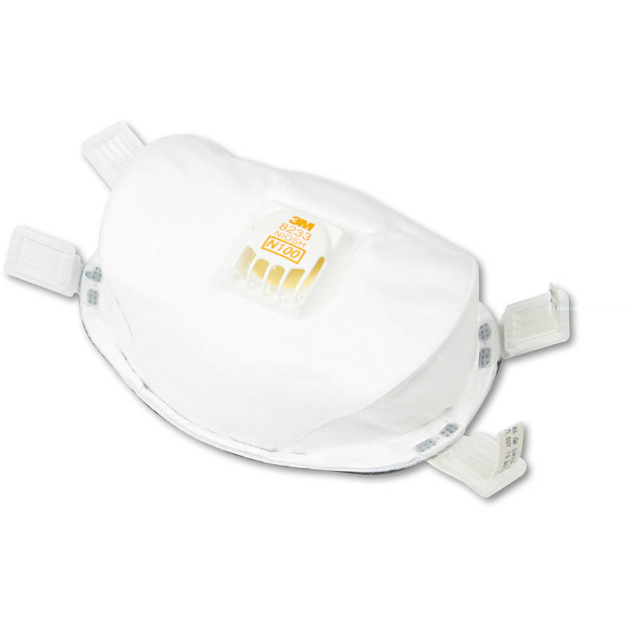 3M 54143 Particulate Respirator 8233, N100 by 3M