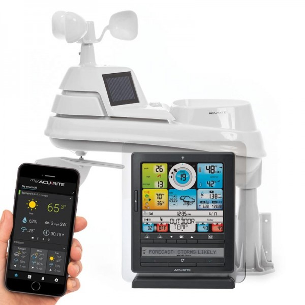 AcuRite 01036M Wireless Weather Station with Programmable Alarms, PC Connect, 5-in-1... by AcuRite