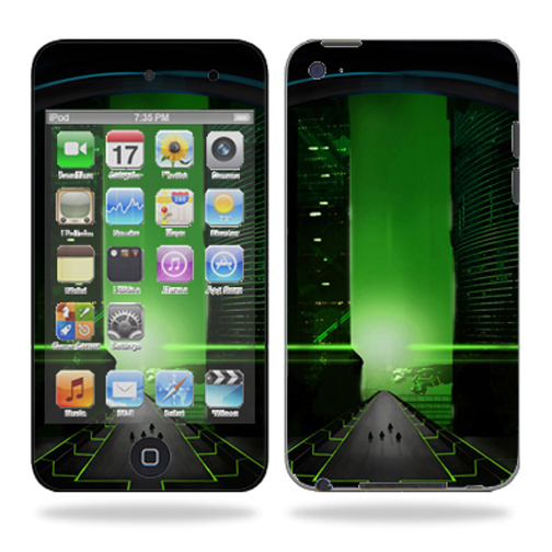 Skin Decal Wrap for iPod Touch 4G 4th Generation Future