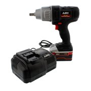 ABN 4073 18V 1 2 Inch Cordless Impact Wrench 4.0AH Lithium-Ion 1 Battery Kit, 440FT LBS of Torque